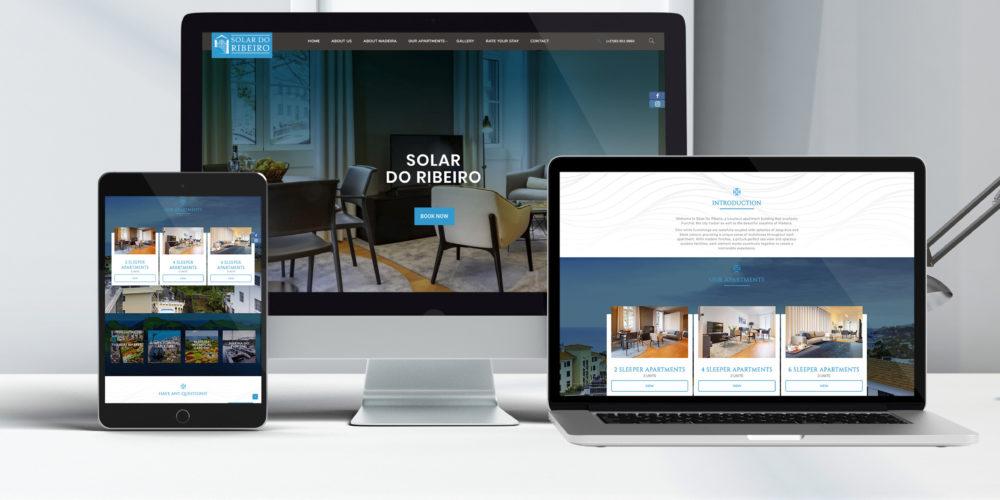 Portfolio - Solar do Ribeiro Website Design & Dev